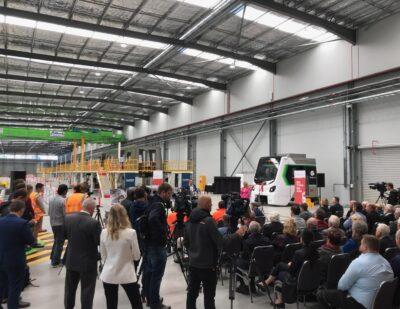 Train Manufacturing Restarts in Western Australia