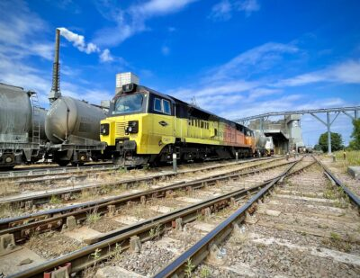 Innovate UK and DfT Fund Project to Electrify Rail Freight Terminals