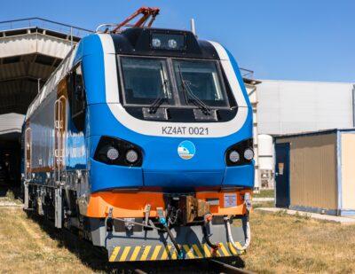 First Alstom Passenger Locomotive Fully Assembled in Kazakhstan