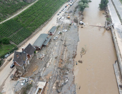 Severe Weather Causes Substantial Damage to Germany's Rail Infrastructure