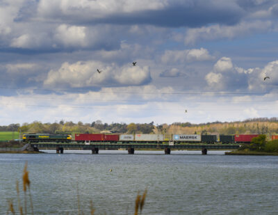 UK Rail Freight Returns to Pre-Pandemic Levels