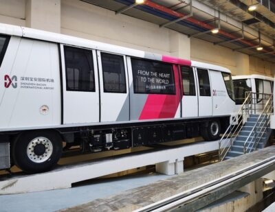 Alstom's Chinese JV Wins Shenzhen Airport APM Operation and Maintenance Contract