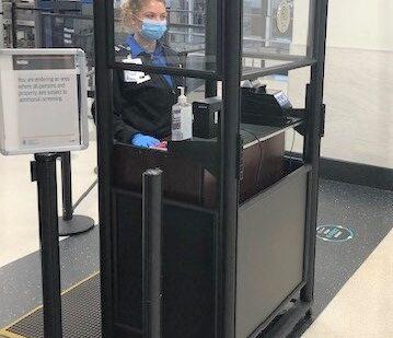 TSA Installs Acrylic Shields at Charlottesville-Albemarle Airport