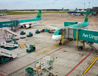 Dublin Airport Christmas Passenger Numbers down by 88%