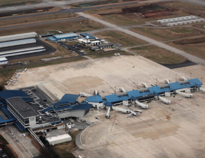 """Huntsville Completes Taxiway """"C"""" Phase 4C and 4D, Opens for Operation"""