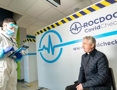 New COVID testing facility opens at Ireland West Airport