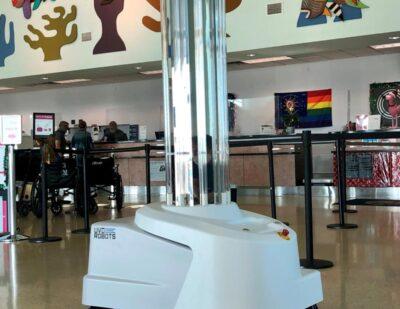 Robot Enhances Cleaning at Key West International