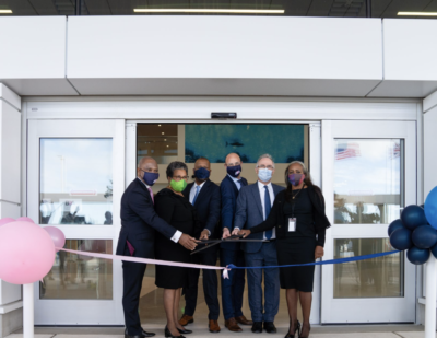 Bermuda's New Passenger Terminal Building Officially Opens