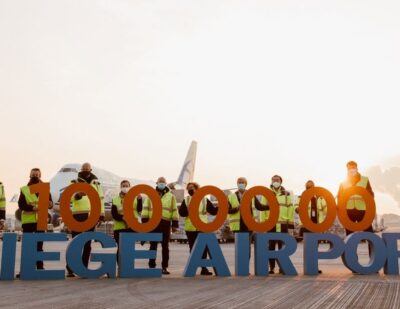 Liege Airport Reaches 1 Million Tonnes of Cargo Transported