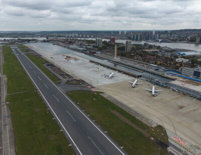 London City Celebrates Completion of Key Airfield Infrastructure Projects