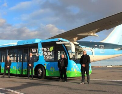 Newcastle Airport on Track for Net Zero 2035 with UK Airport First