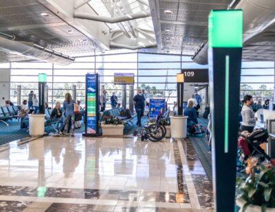 Orlando Airport Testing Crowd Density Monitoring System