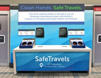 High-Tech Hand Washer Lands at PIT