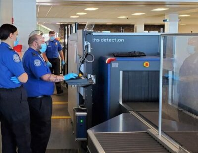 TSA Checkpoint at Syracuse Hancock Gets New 3-D Checkpoint Scanner