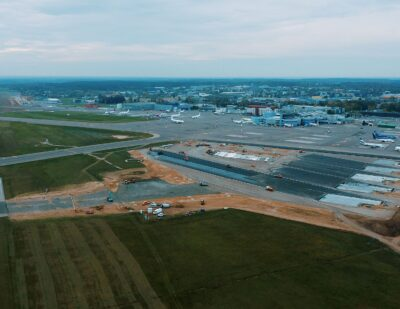 Vilnius Airport Completes Taxiway Renovation