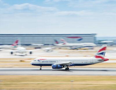 Heathrow Passenger Numbers down by 72.7% in 2020