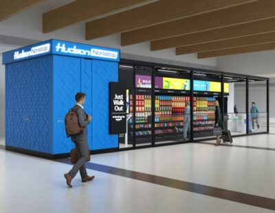 Hudson to Open Airport Stores Using Amazon's Just Walk Out Technology