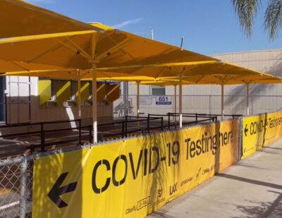 LAX Launches Innovative on-Site COVID-19 Rapid Test Lab
