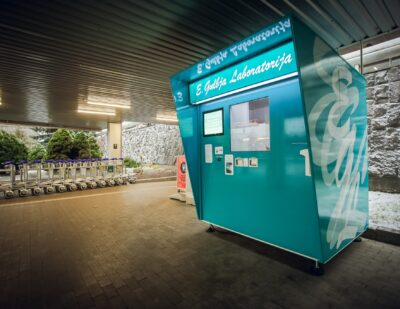 Contactless Covid-19 Testing Point Starts Operating at Riga Airport