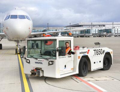 Swissport Wins IAG at Berlin Airport