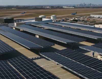 AUS and Austin Energy Unveil Solar Project Atop Parking Garage