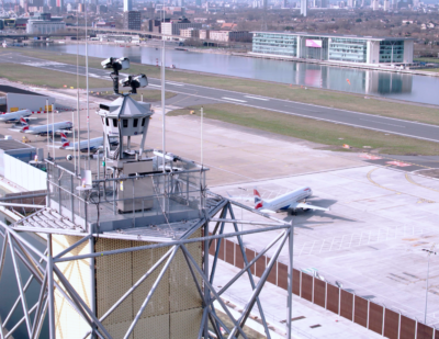 London City Is First Major Airport Controlled by Remote Digital Tower