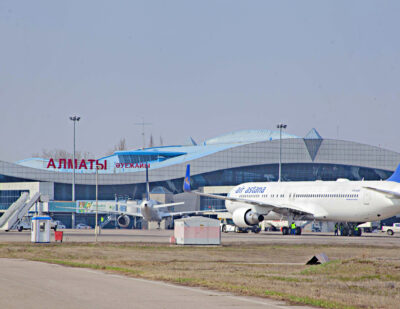 TAV Takes over Operations at Almaty Airport