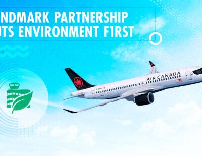 Edmonton International and Air Canada Form Green Partnership