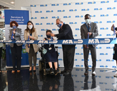 MIA Opens Wheelchair Charging Stations