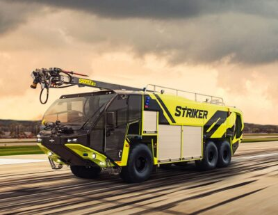 Oshkosh Secures First Order for the New Striker ARFF Vehicle