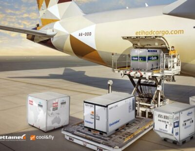 Etihad Cargo Selects Jettainer's New cool&fly Service