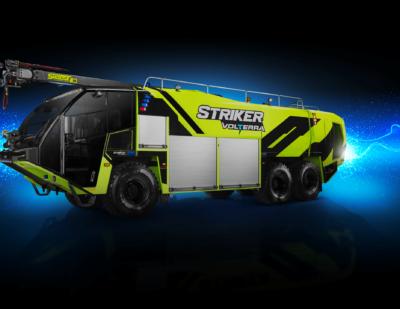 Oshkosh Introduces the Volterra Platform of Electric ARFF Vehicles