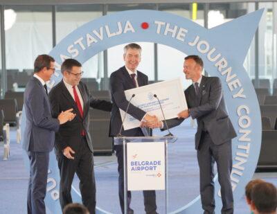 Vinci Airport Reaches Milestones in the Modernization of Belgrade Airport