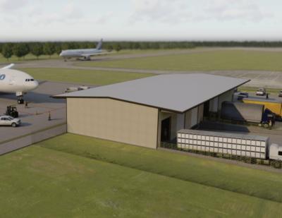 Chennault Breaks Ground on $4 Million Air Cargo Facility