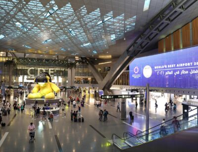 Hamad International Ranked First by Skytrax World Airport Awards 2021