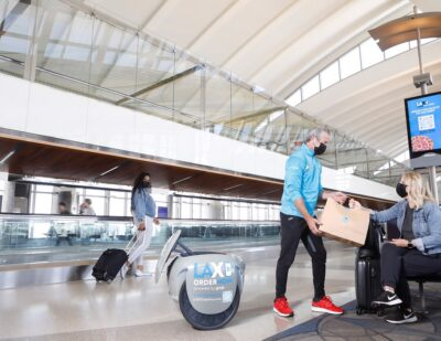 LAX Launches NomNom, a Food Delivery Robot