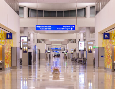 The West Gates at Tom Bradley International Terminal Earns LEED Gold Certification