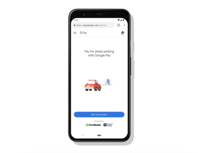 Google Provides More Ways to Pay for Parking and Transit