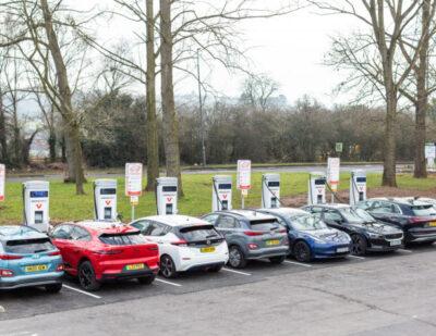 UK's Largest Public Rapid Charge Motorway Hub Opens on M6