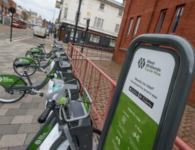 Cycle Hire Launched in Wolverhampton and Sutton Coldfield