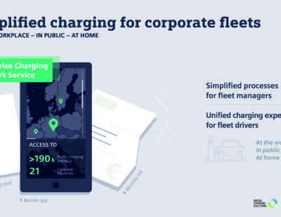 Siemens and Digital Charging Solutions to Collaborate