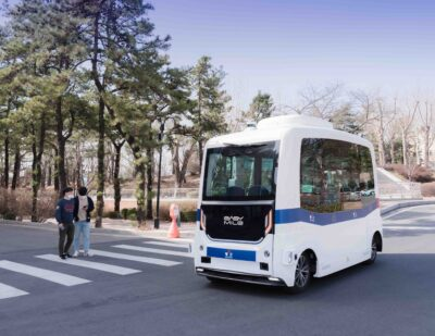 EasyMile Deploys its First Autonomous Shuttle in Korea