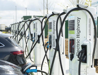 Electric Highway Opens UK's Largest High Power Motorway Charging Site