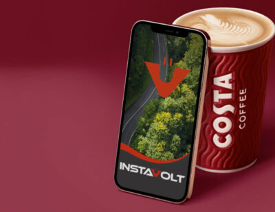 Costa Coffee Partners with InstaVolt for EV Charge Points