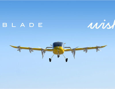 Wisk to Provide and Operate up to 30 Electric Vertical Aircraft for Blade