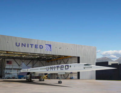 United Inks Agreement to Buy Aircraft from Boom Supersonic