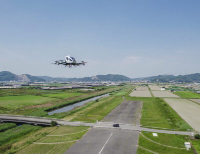 EHang: 216 AAV Conducted Trial Flights in Japan