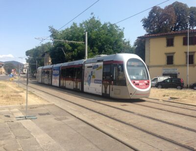 Smart Trams Set the Ground for Optimised Mobility in Florence