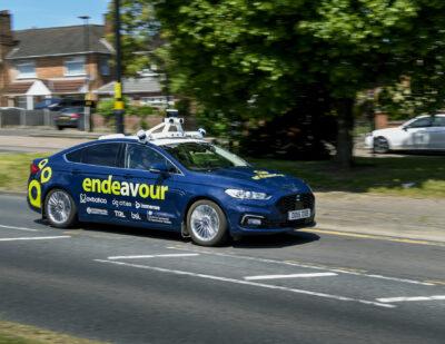 Project Endeavour Arrives in Birmingham for Trials on Public Roads