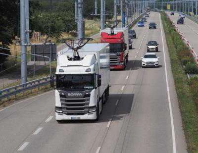 Third eHighway Field Trial Starts in Germany